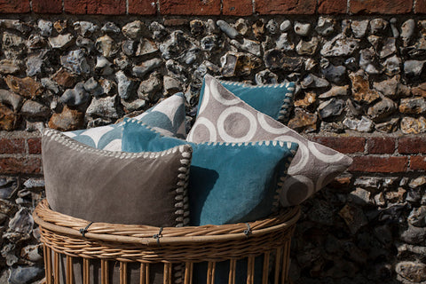 Birdie Fortescue | Versha Velvet Cushion Story