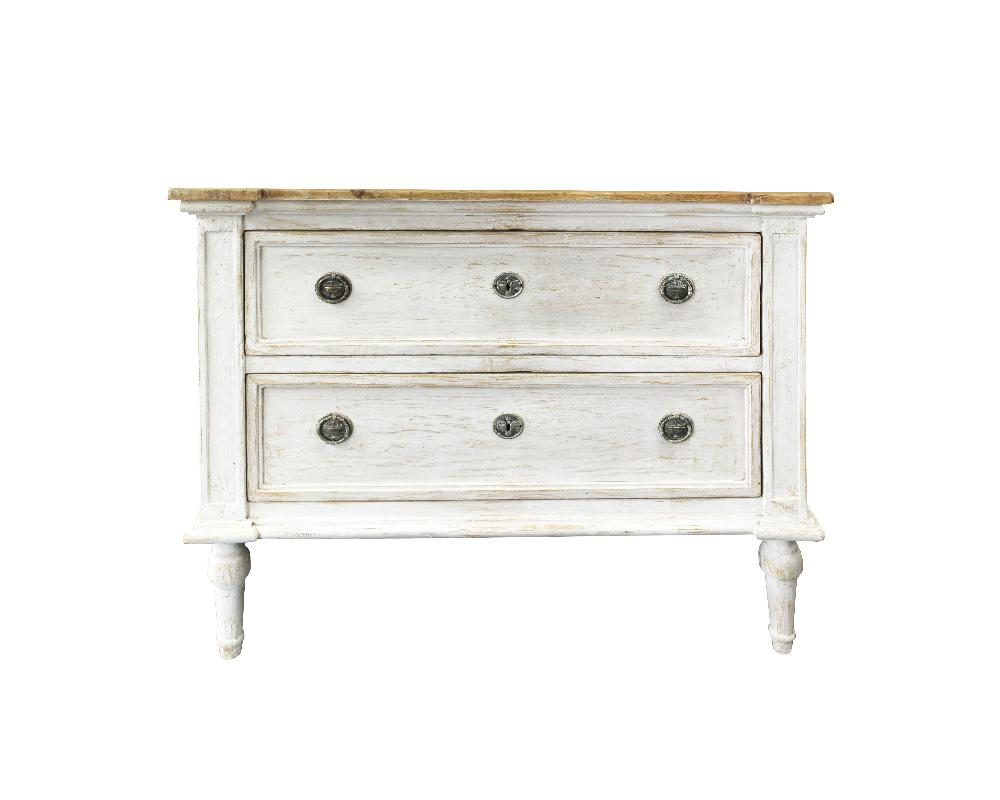 Late 19th Century French Painted Commode