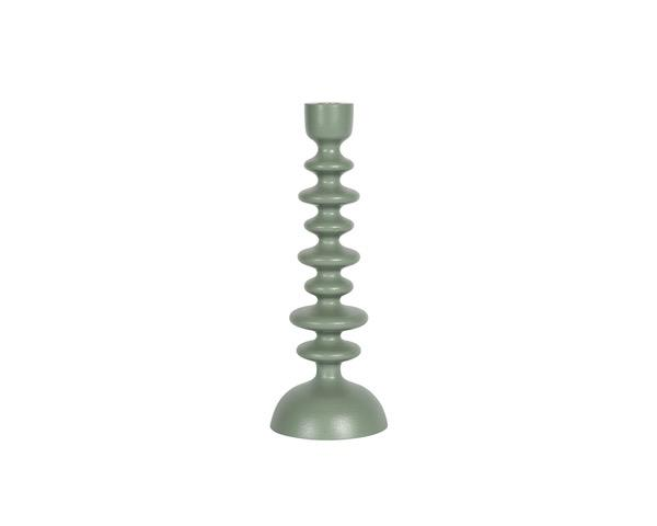 Green Hexagon Candlestick (Seconds) - Large