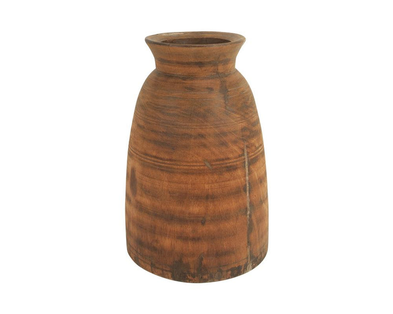 A Variety of Limited Edition Vintage Wooden Pots - Large
