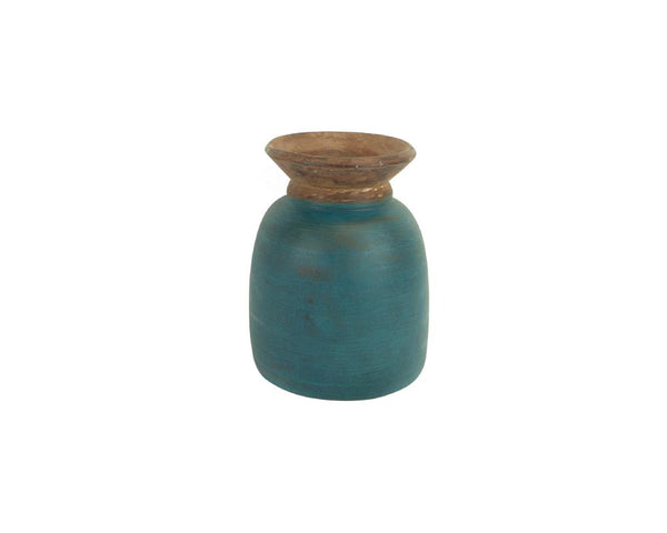 A Variety of Limited Edition Vintage Kulu Pots - Teal (Medium)