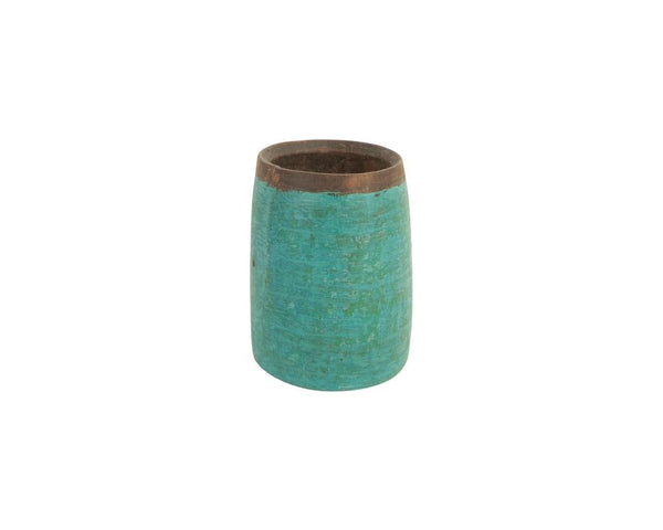 A Variety of Limited Edition Vintage Kulu Pots - Dark Aqua (Small)