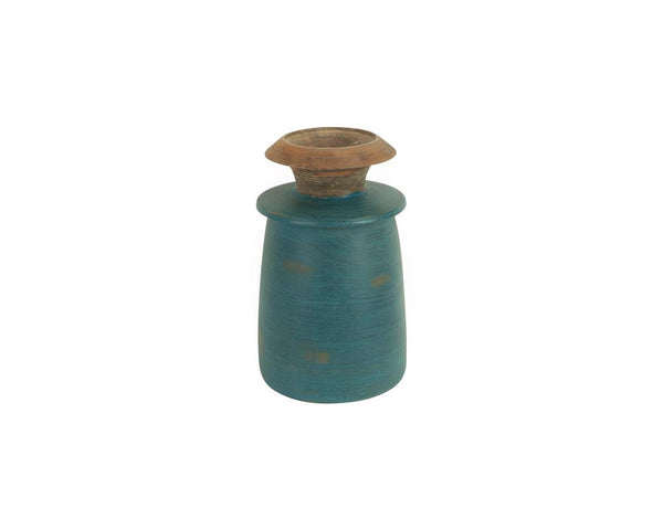 A Variety of Limited Edition Vintage Kulu Pots - Teal (Small)