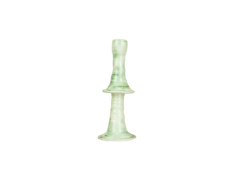 Limited Edition Joanna Ling Candlestick - Moss Green