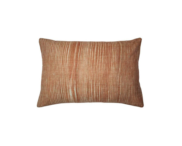 Limited Edition Khadi Cushion - Ochre Weave