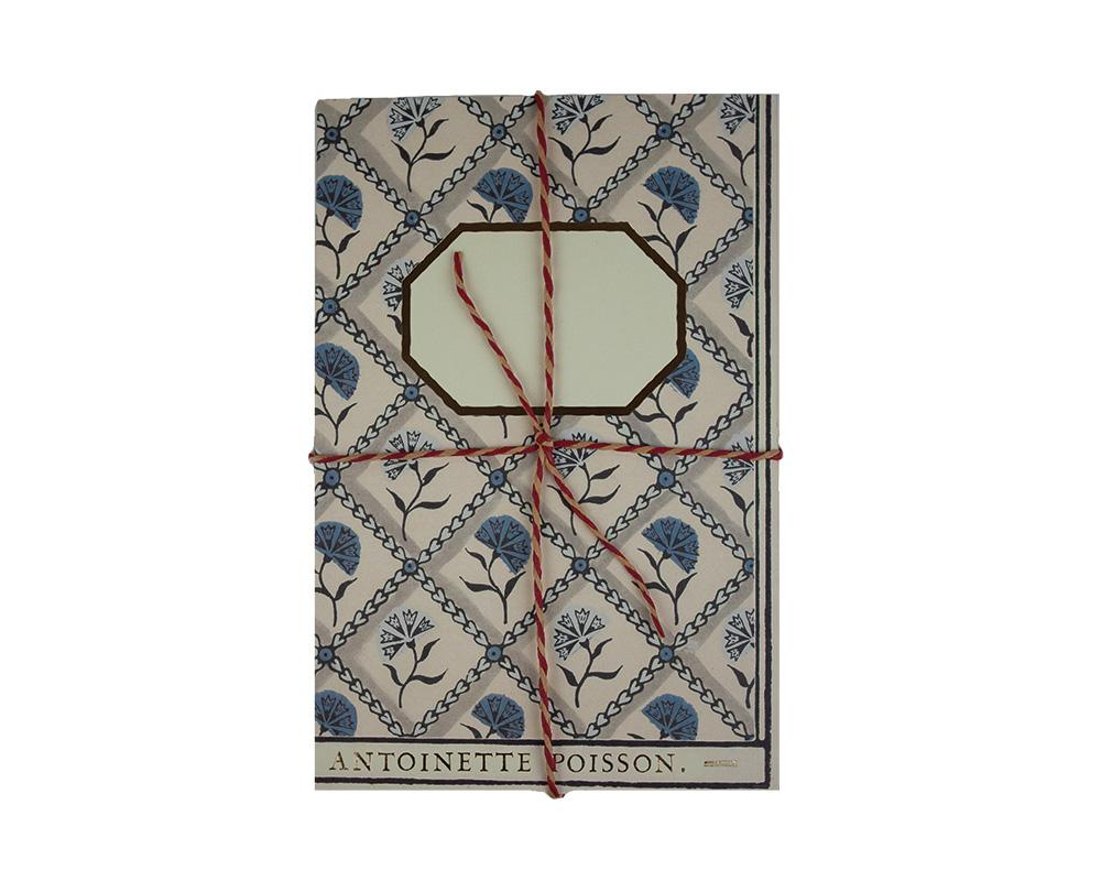 Antoinette Poisson - Handmade Notebook V