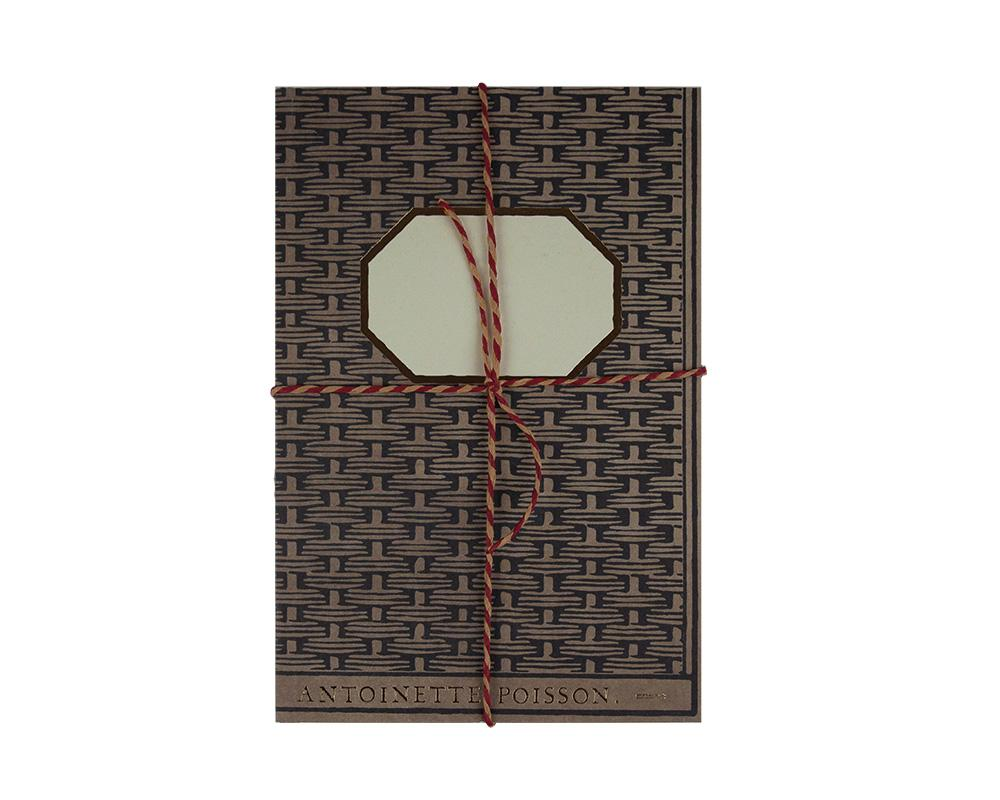 Antoinette Poisson - Handmade Notebook VIII