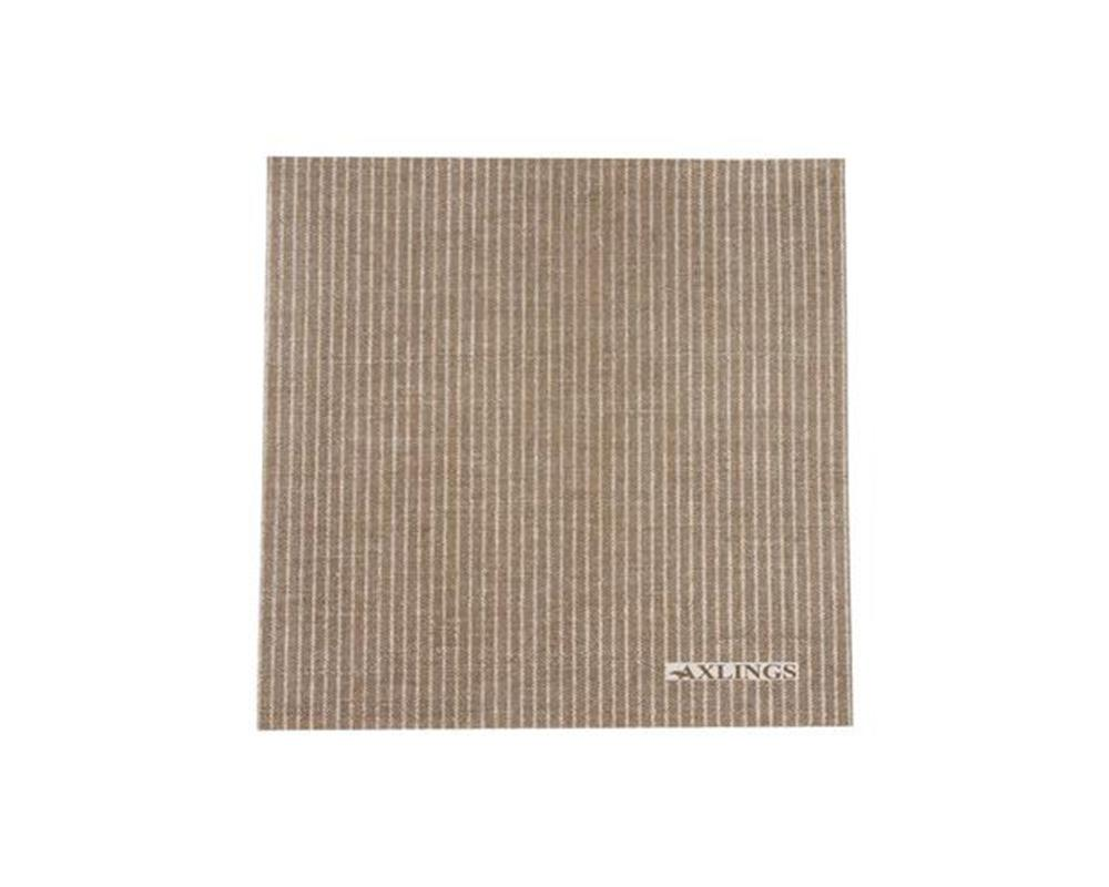 Linen Look Paper Napkins - Brown