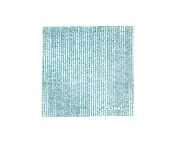 Linen Look Paper Napkins - Ice Blue