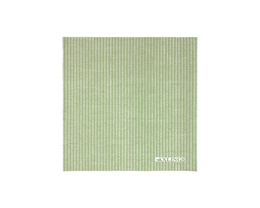 Linen Look Paper Napkins - Leaf Green