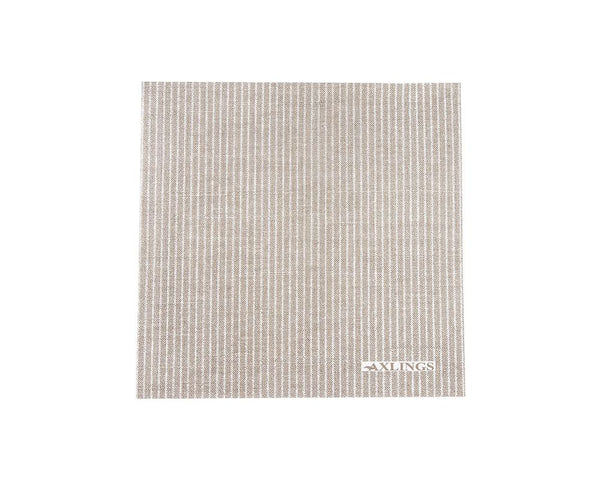Linen Look Paper Napkins - Natural