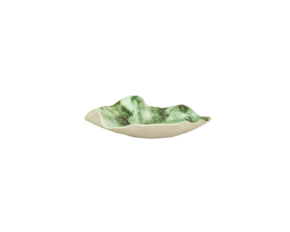 Limited Edition Joanna Ling Small Bowl - Moss Green III