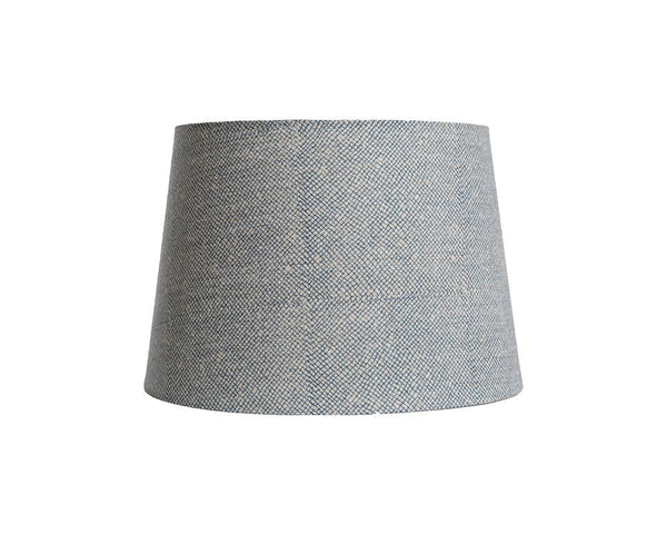 Block Printed Lampshade - Blue