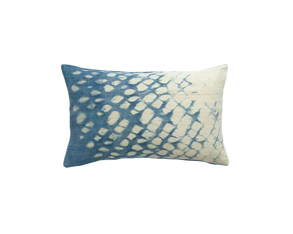 Limited Edition Arashi Shibori Cushion - Midnight