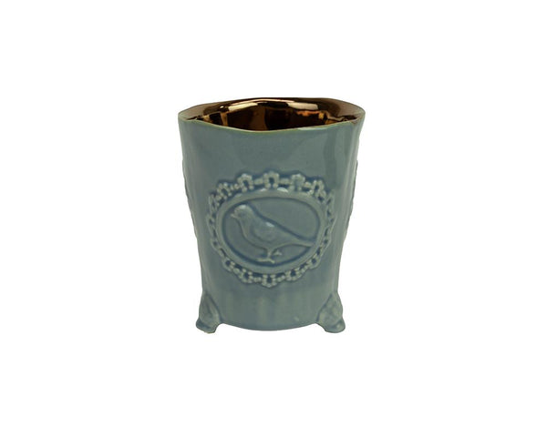 Potterie Bird Pot - Cornflower