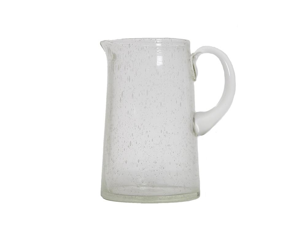 Pulegoso Glass Jug - Clear