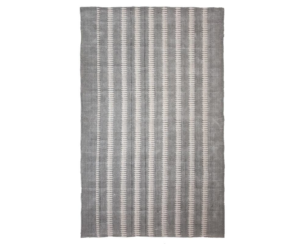 Printed Cotton Rug - Taupe