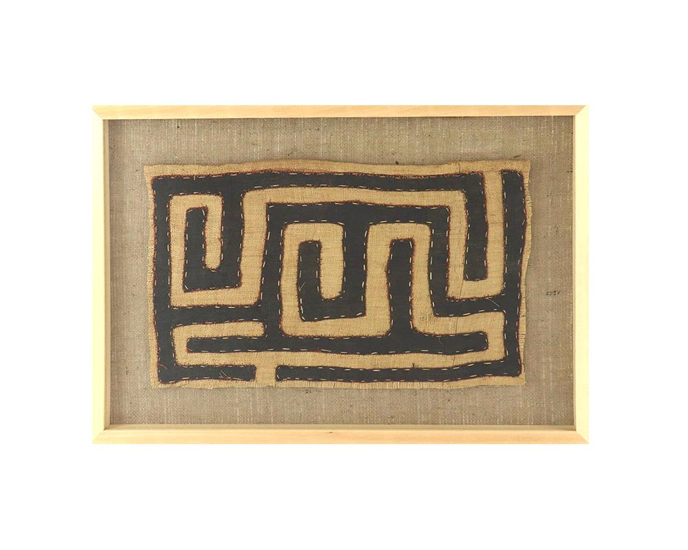 Limited Edition Framed Kuba Cloth - VIII