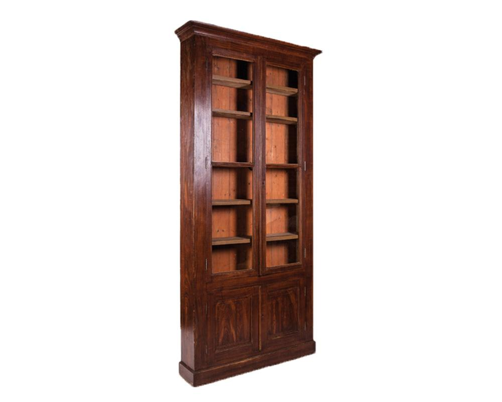 Tall Faux Bois Bookcase