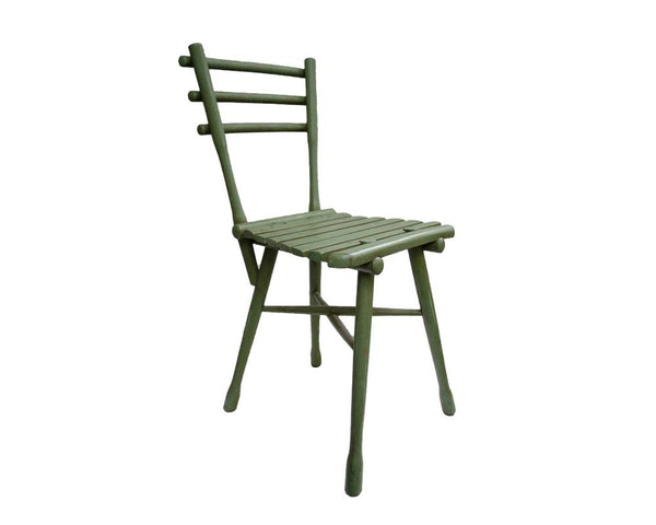 Painted Bamboo Style Dining Chair