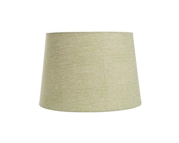 Block Printed Lampshade - Green