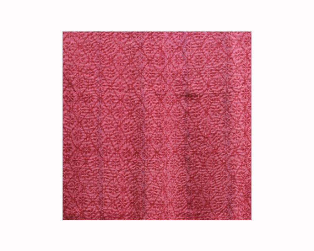 Limited Edition Vintage Kantha Throw - Red 11/16