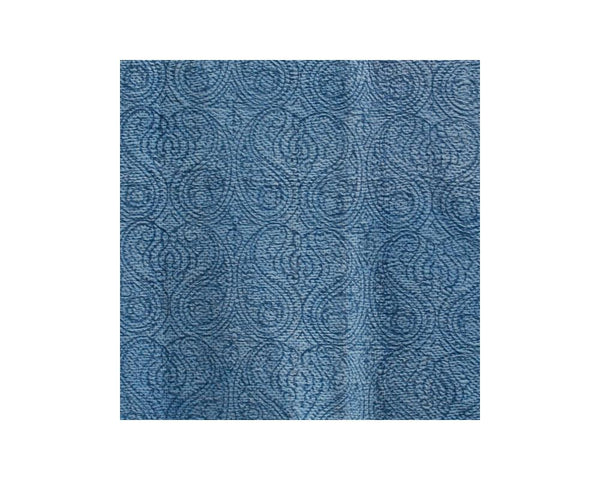 Limited Edition Vintage Kantha Throw - Blue 5/14