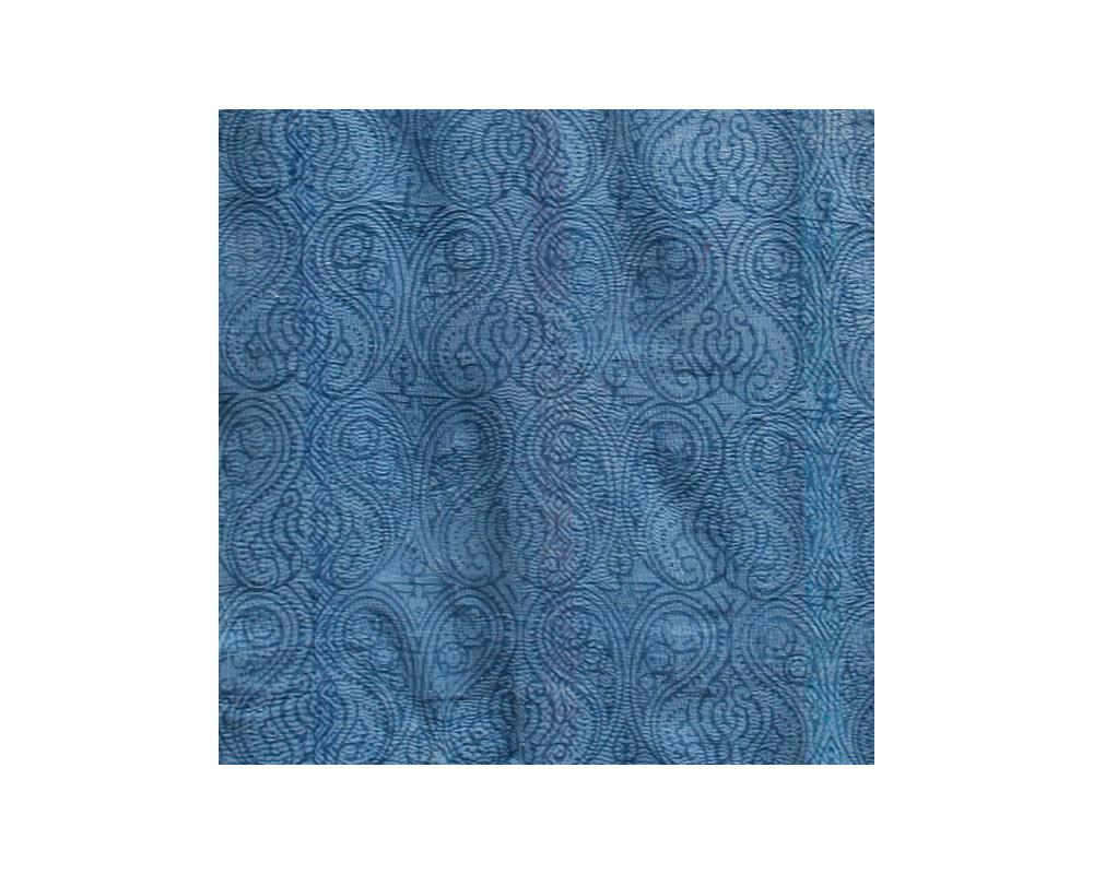 Limited Edition Vintage Kantha Throw - Blue 7/14