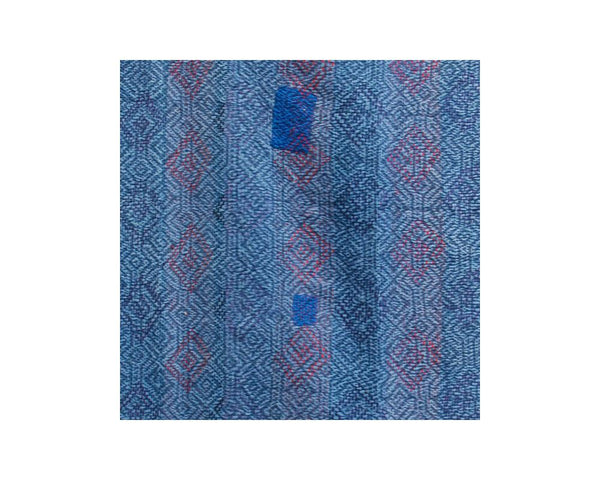 Limited Edition Vintage Kantha Throw - Blue 8/14