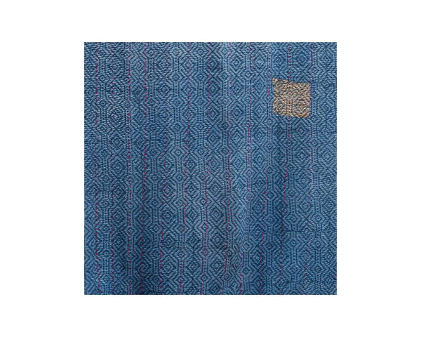 Limited Edition Vintage Kantha Throw - Blue 9/14