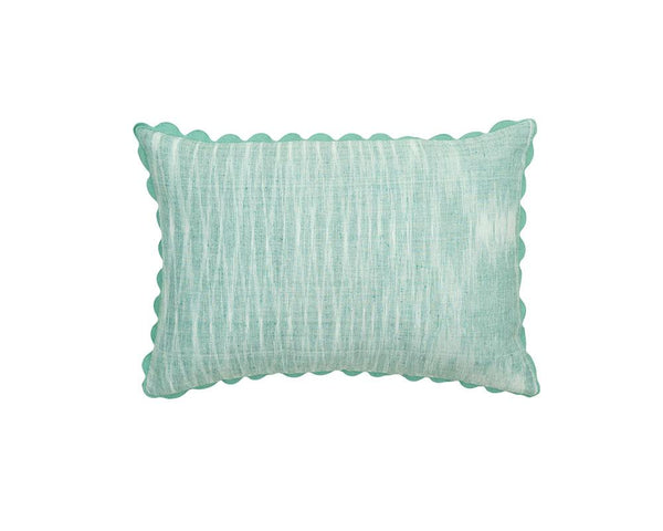 Limited Edition Mishran Khadi Cushion - Teal