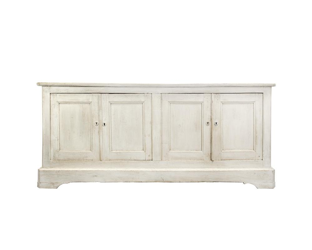 Large French Painted 19th Century Buffet (Reserved)