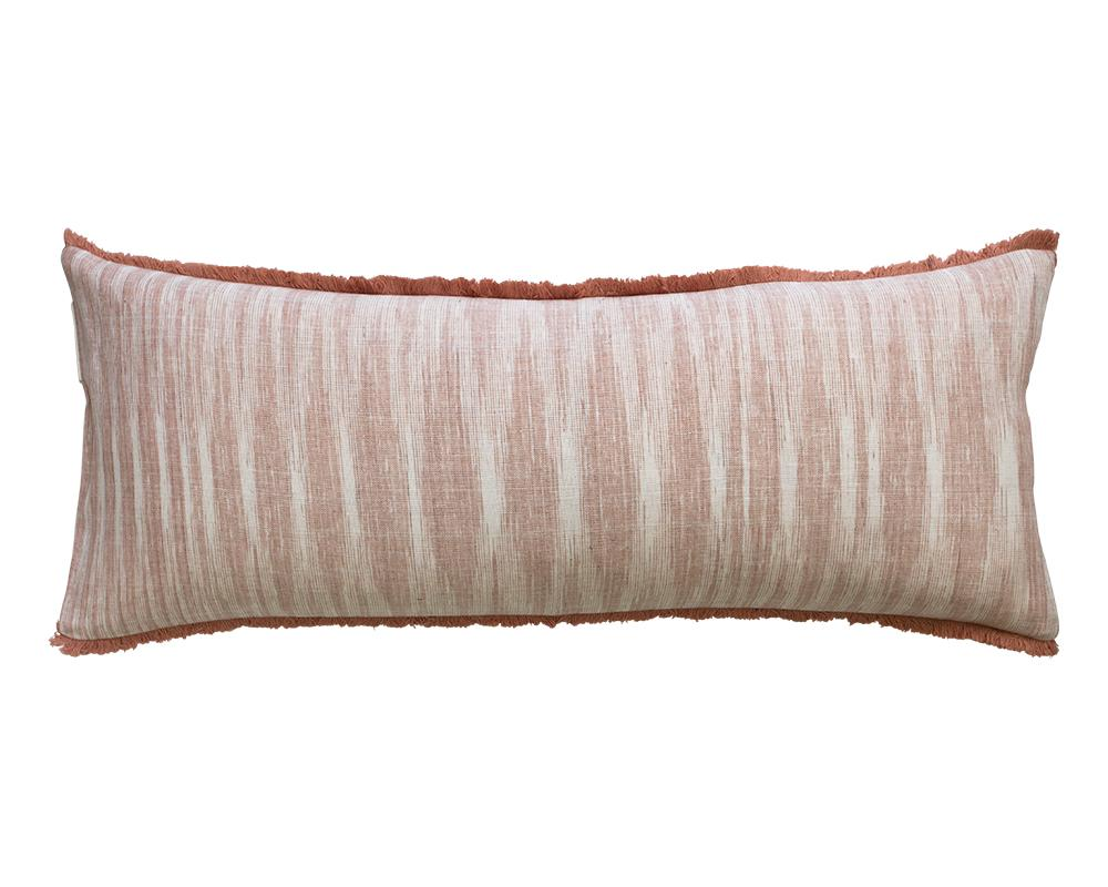 Limited Edition Khadi Cushion - Clay