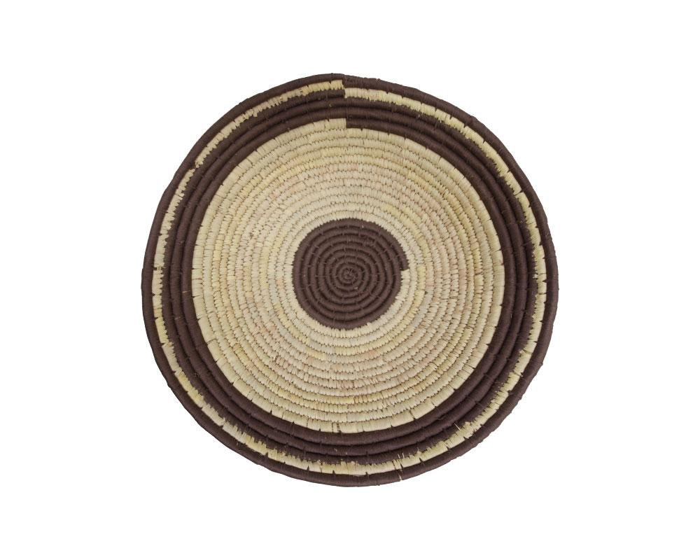 Limited Edition Circle Woven Wall Baskets - Walnut Varieties