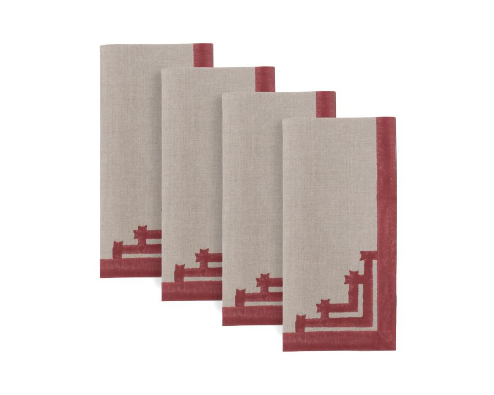 Siriki Napkin - Merlot (Set of 4)
