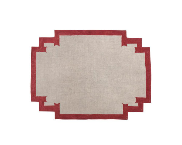 Siriki Placemat - Merlot (Set of 4)