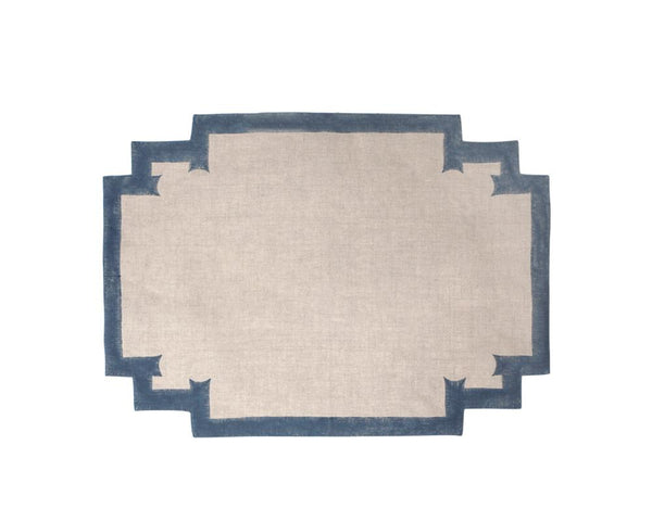 Birdie Fortescue Siriki Placemat - Midnight