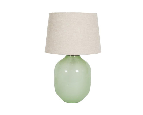Small Piyush Glass Lamp - Green