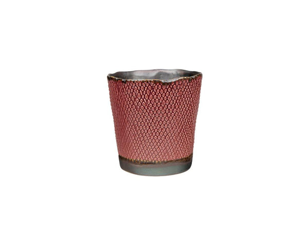 Potterie Textured Pot - Pink