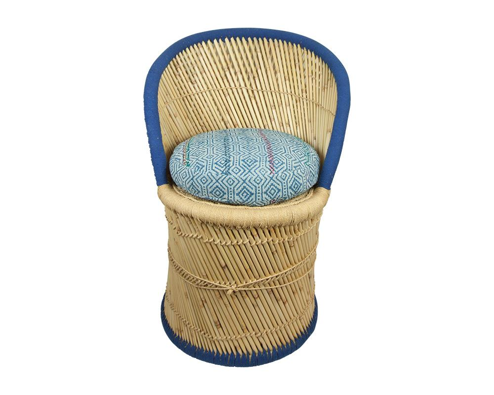 Limited Edition Pampas Chair - Blue 4/6