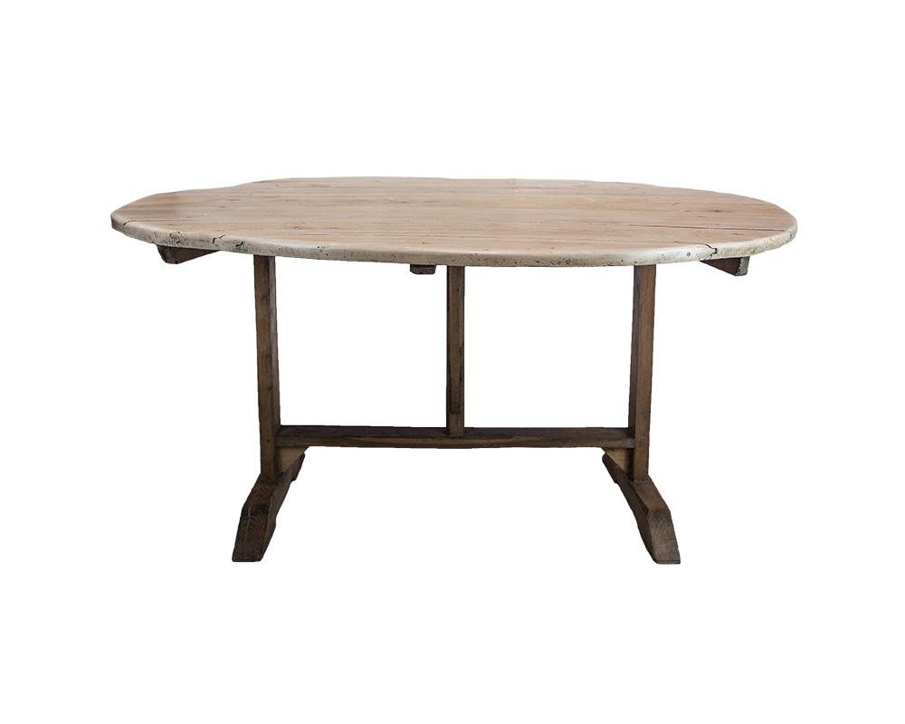 French Pine Table c1880