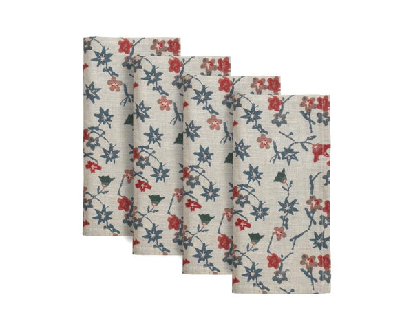 Hana Floral Napkin (Set of 4)