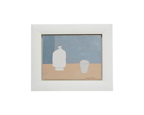Sophie Harding - White Pot and Small Cup