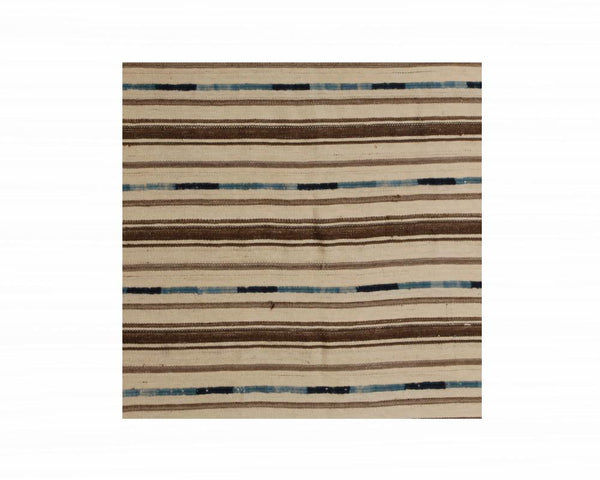 Limited Edition Turkish Embellished Kilim Rug X