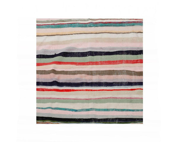 Limited Edition Turkish Striped Kilim Rug VIII