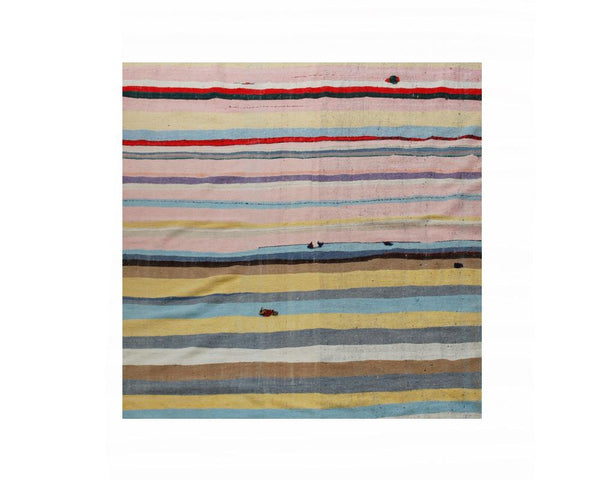 Limited Edition Turkish Striped Kilim Rug IX