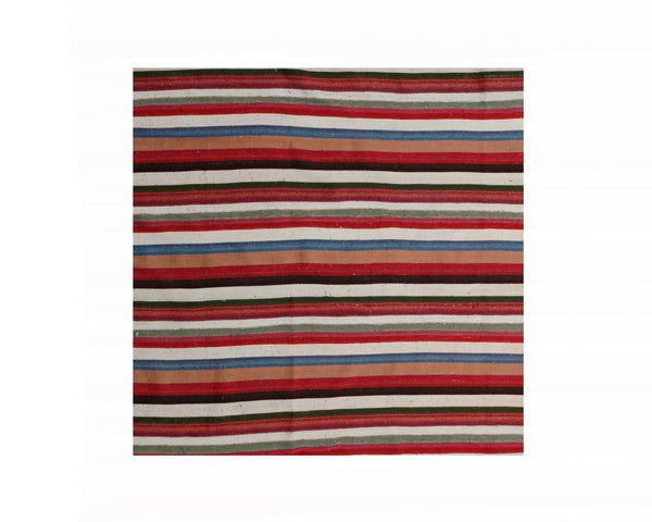Limited Edition Turkish Striped Kilim Rug II