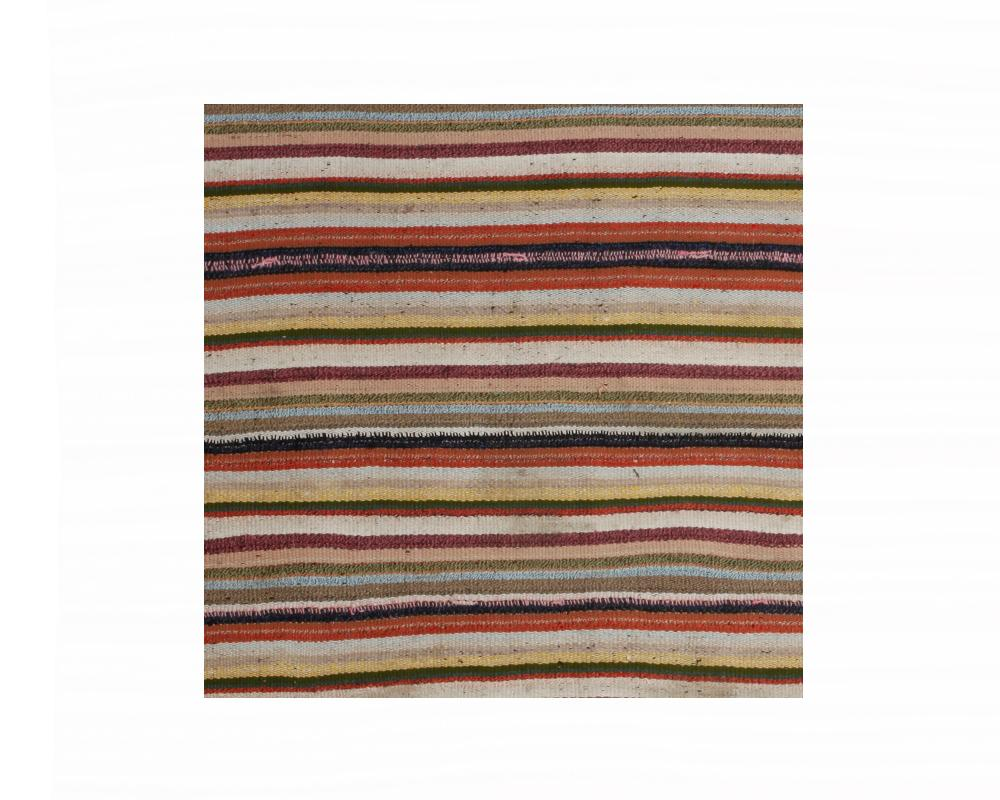 Limited Edition Turkish Striped Kilim Rug IV