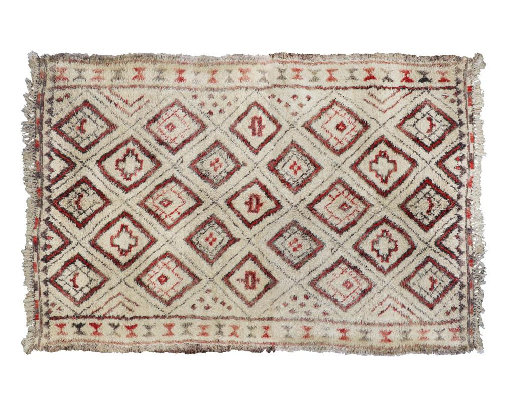 Curated Edition Vintage Beni Ourain Rug no.4