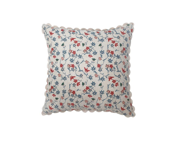 Hana Floral Square Cushion